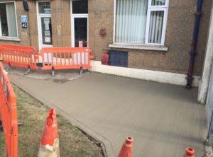 Concrete Road Repairs in Bath