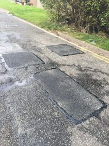 Find Tarmac Repairs in Sandy